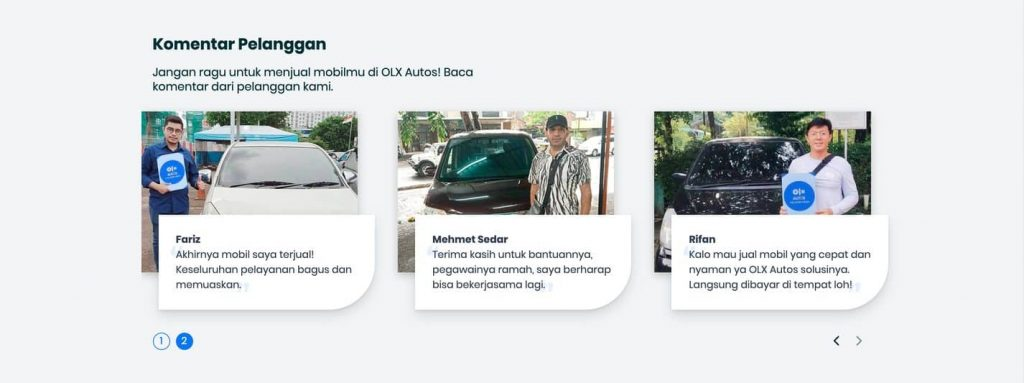 Komentar Pelanggan Olx Autos - Duniapedia.com